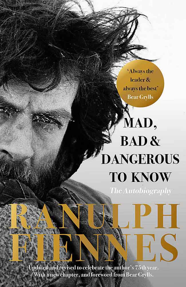 Ranulph Fiennes' autobiography