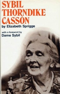 Sybil Thorndike biography